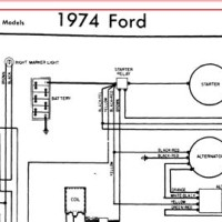 1974 Ford F100 Alternator Wiring Diagram - Wiring Diagram ...